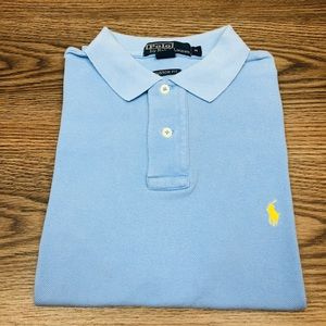 Polo Ralph Lauren Light Blue Polo Shirt M